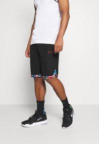 Nike Performance - DRY DNA  - Short de sport - black/chile red - 0