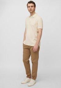 Marc O'Polo - Polo shirt - linen white - 1