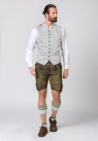 Stockerpoint - DAVIS - Waistcoat - light grey - 1