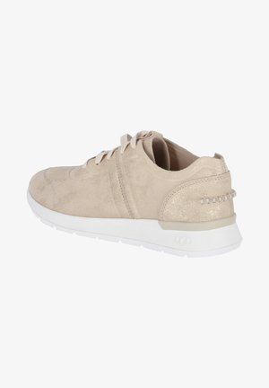 Trainers - beige - gold
