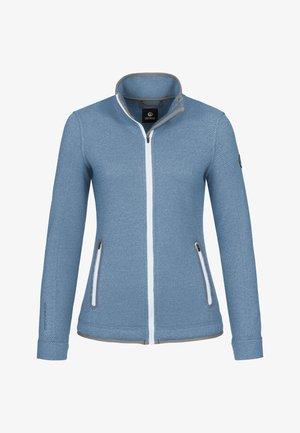 SINA - Zip-up hoodie - himmelblau