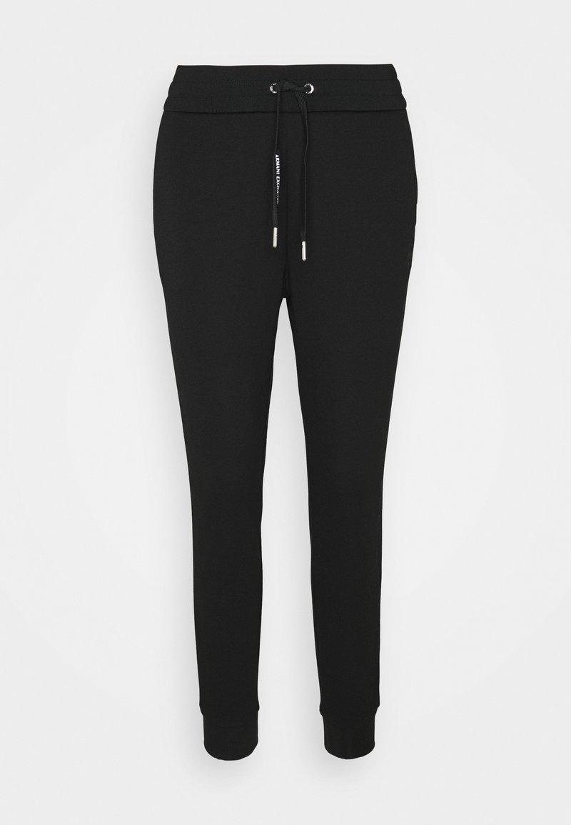Armani Exchange - PANTALONI - Pantalones deportivos - black