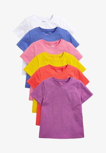6 PACK - T-shirt basic - red