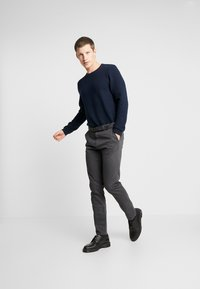 TOM TAILOR DENIM - STRUCTURE CREWNECK - Sweatshirt - sky captain blue - 1