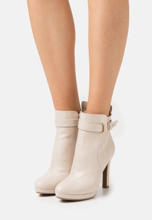 VEGAN AUDRINA - High heeled ankle boots - nude