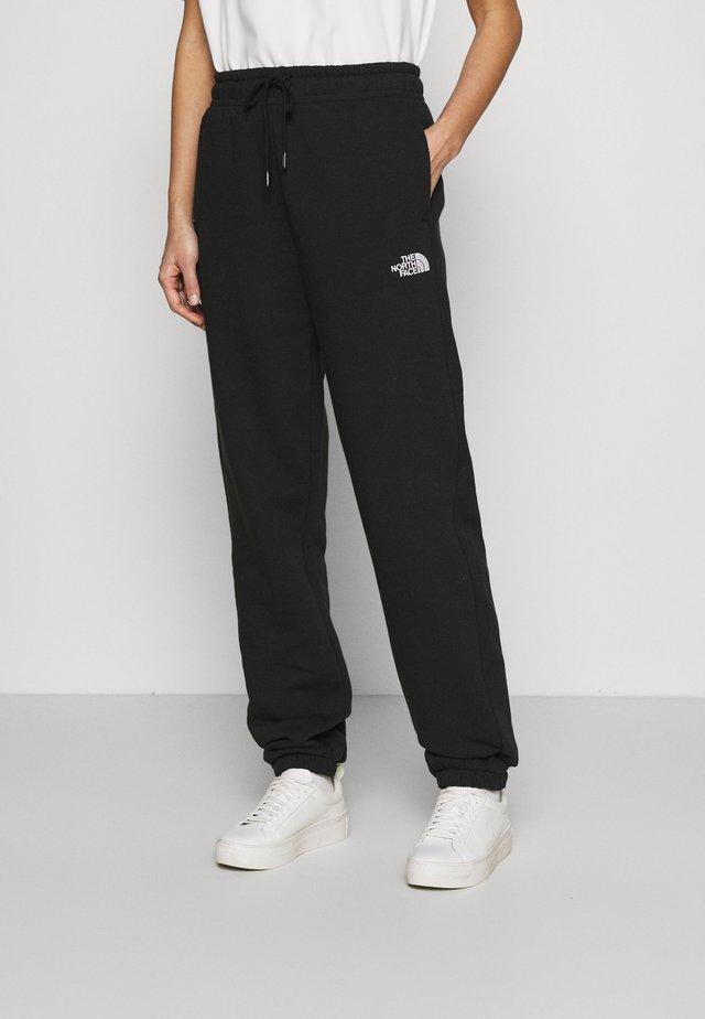 ESSENTIAL - Pantalones deportivos - black