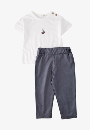 SET - Trousers - off-white