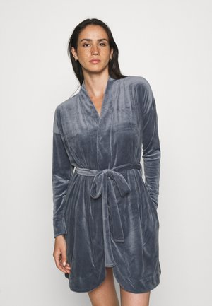 ROBE SHORT - Dressing gown - folkstone grey
