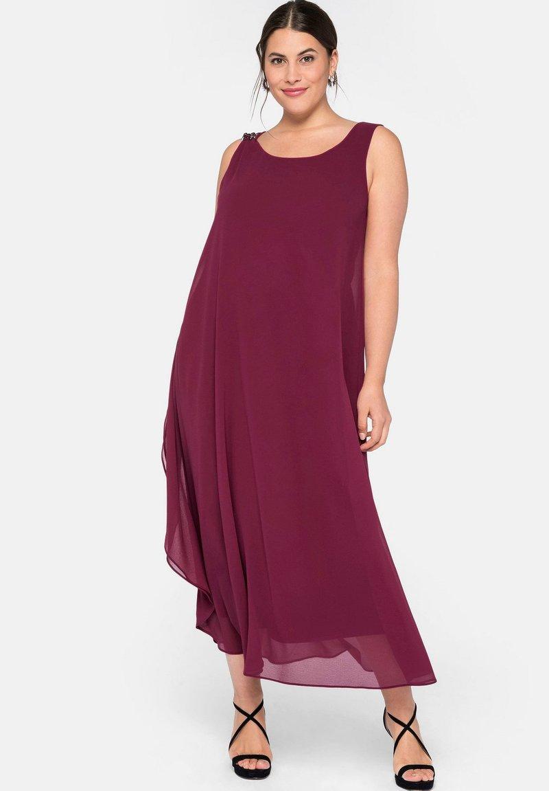 Sheego - Maxi dress - himbeere