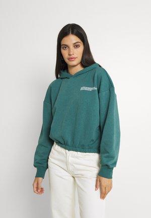 ONLCOOPER LIFE HOOD - Jersey con capucha - mallard green