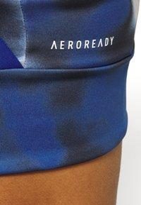 adidas Performance - AEROREADY WORKOUT BRA LIGHT SUPPORT - Sujetador deportivo - royal blue/white - 3
