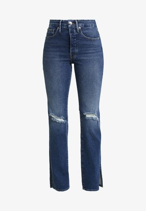 GOOD BOY WITH SIDE SLIT - Relaxed fit jeans - blue