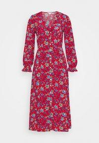 Springfield - MIDI FLOR INDIA - Denní šaty - red/coral - 4