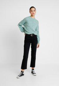 Topshop - Jeans Straight Leg - black - 1