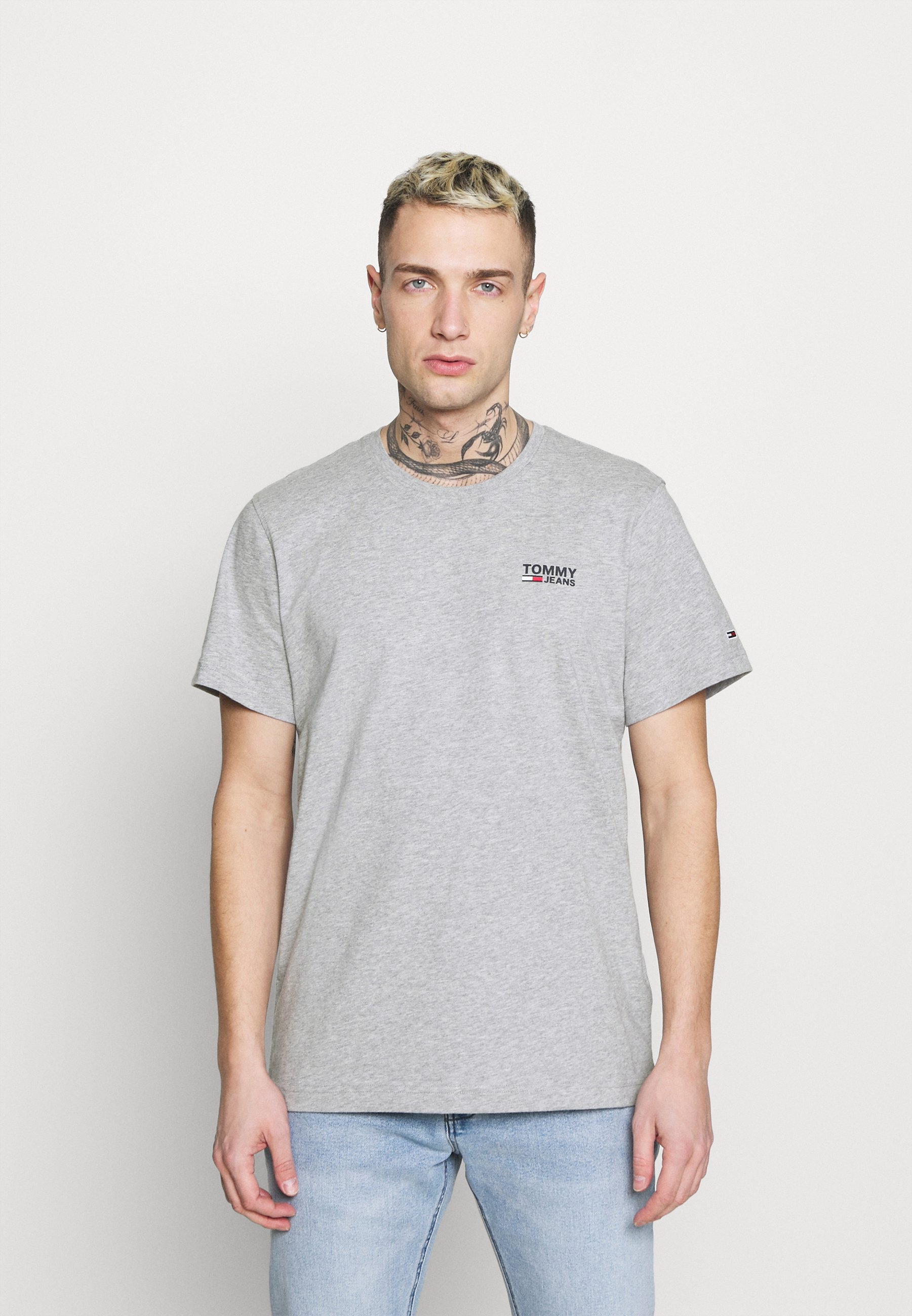 Homme REGULAR CORP LOGO CNECK - T-shirt basique