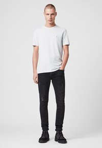 AllSaints - BRACE - Basic T-shirt - blue - 1