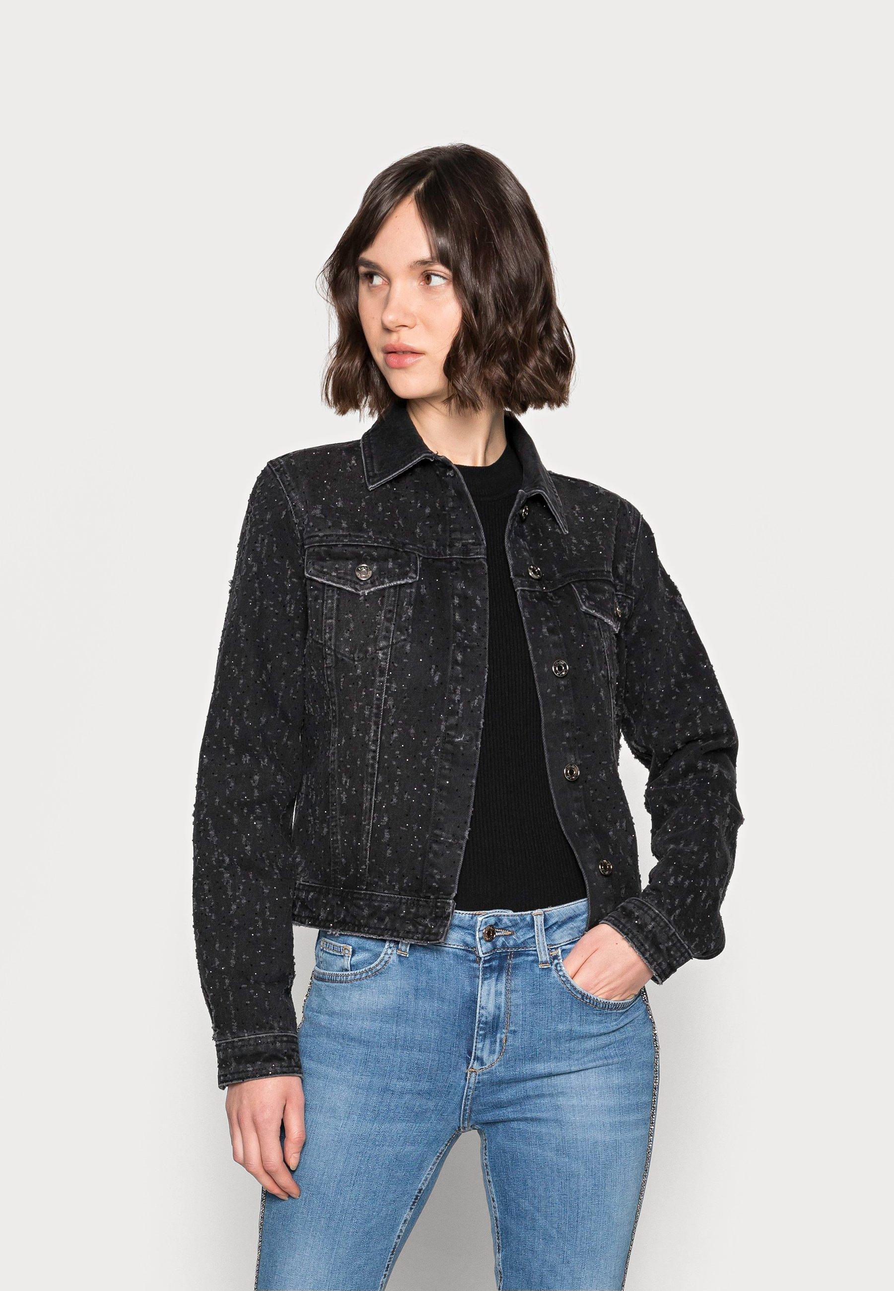 Women GIUBBINO BRILLANT - Denim jacket