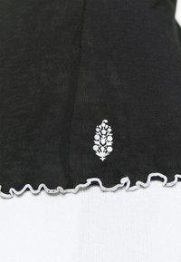 Free People - SOLID HIGH JUMP - Maglietta a manica lunga - black - 6