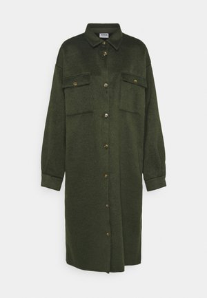 NMLULLA EXTRA LONG SHACKET TALL - Classic coat - rosin