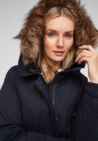 s.Oliver - MIT DOPPELKAPUZE - Winter coat - navy - 5