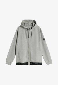 Bershka - Lehká bunda - light grey - 4
