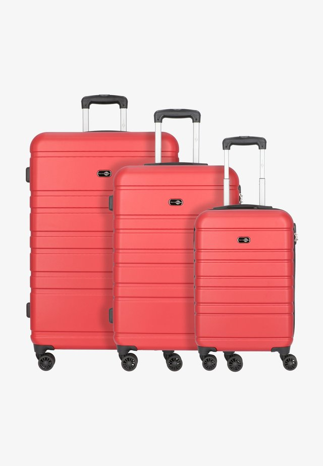 Luggage set - rot