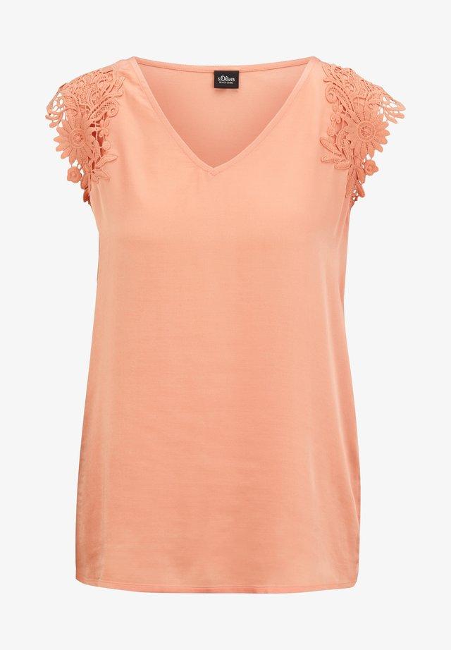 Bluse - dusty peach