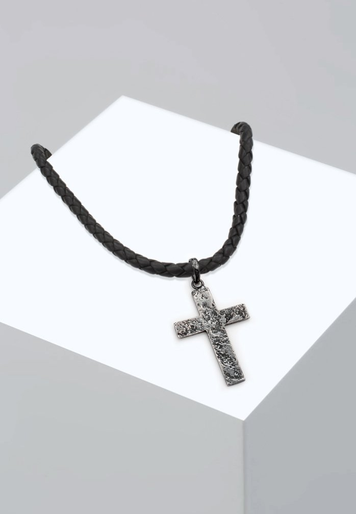 Homme CROSS - Collier - silver-coloured