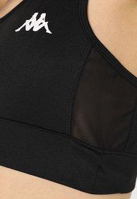 Kappa - EBBA - Sujetadores deportivos con sujeción media - black - 4