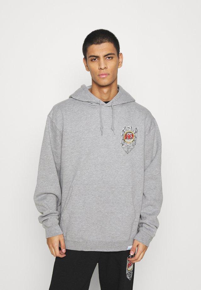 BRILLIANT ABYSS HOODIES - Sweatshirt - grey