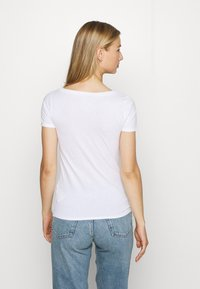 Hollister Co. - ICON MULTI 3 PACK - Basic T-shirt - white/black/light grey - 3