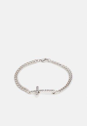 CROSS CHAIN BRACELET - Bracelet - silver-coloured