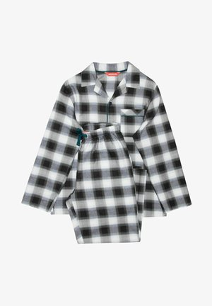 SET - Pyjamas - black/teal