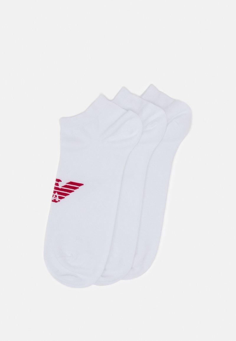 Emporio Armani - IN SHOE SOCKS 3 PACK - Socks - bianco