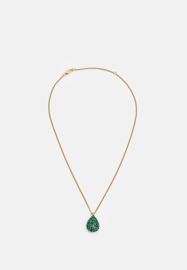 BAILEY NECKLACE - Collana - green/gold-coloured