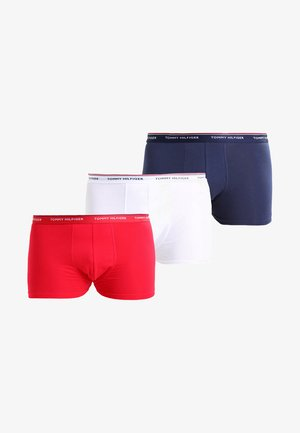 PREMIUM 3 PACK - Pants - tango red/white /peacoat
