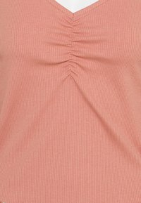 ONLY - ONLNUVELLA LIFE VNECK - Maglietta a manica lunga - old rose - 2