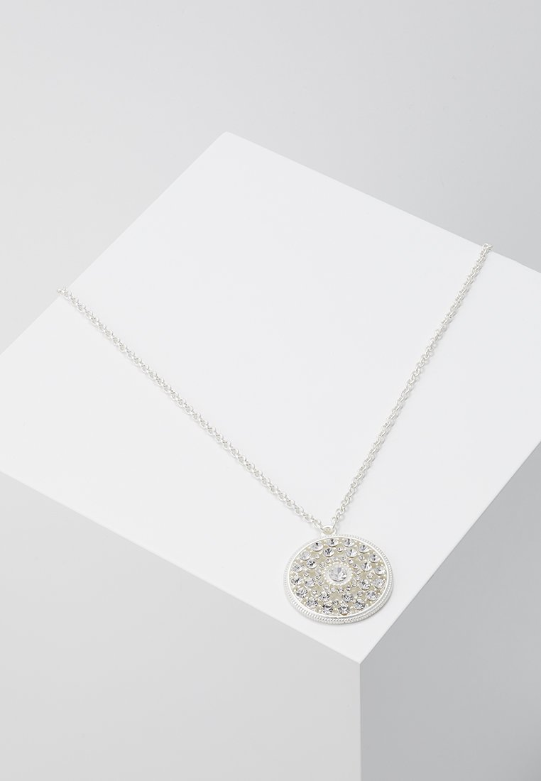 sweet deluxe - Necklace - silver/crystal