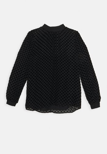 DEVORE - Long sleeved top - black