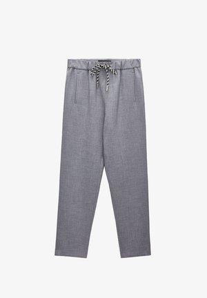 STRETCH  - Trousers - grey