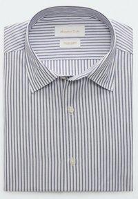 Massimo Dutti - GESTREIFTES SLIM FIT - Formal shirt - blue - 1