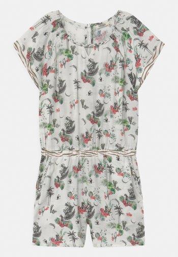 PALM PRINT  - Jumpsuit - white