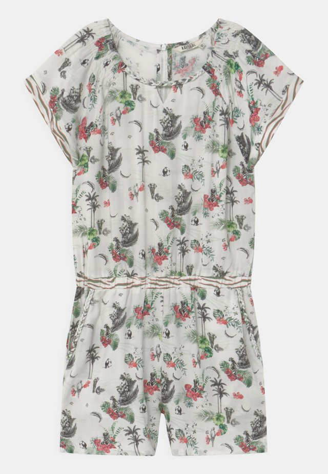 PALM PRINT  - Overall / Jumpsuit - white