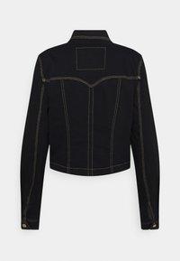 Versace Jeans Couture - LADY JACKET - Denim jacket - black - 8