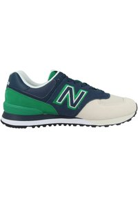 New Balance - SCHUHE ML 574 - Trainers - natural indigo/hula green - 4