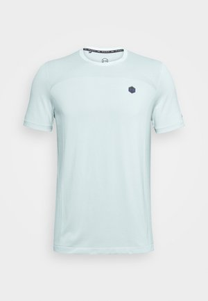 RUSH SEAMLESS FITTED - T-shirt de sport - enamel blue
