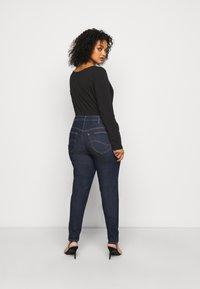 Lee Plus - SUPER HIGH SCARLETT - Jeans Skinny Fit - dark pamela - 2