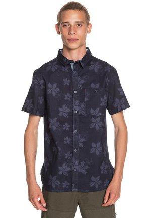 Shirt - navy blazer sport flower