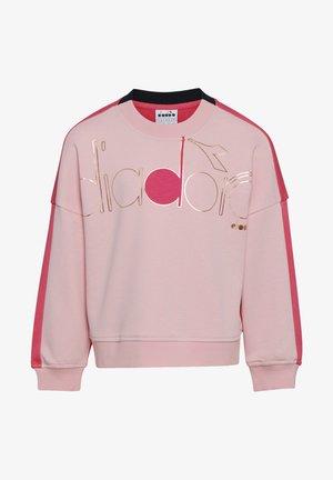 CREW LOGO MANIA UNISEX - Sweatshirt - pink peachskin