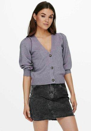 Cardigan - lavender gray